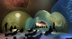Casson Mann's vision for Zone 5 in Lascaux IV