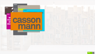 Casson Mann Website, Home Page